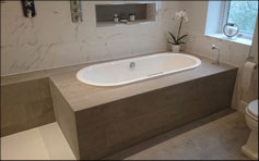 Bathroom fitters example for Milngavie