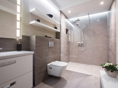 Bathroom Installation Example Milngavie